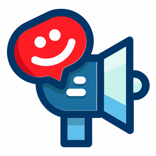 expression, happy, notification, smile, smiley icon