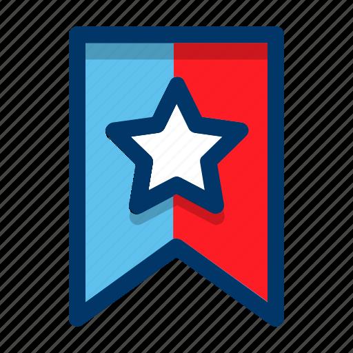 achievement, badge, bookmark, favorite, favourite, star icon