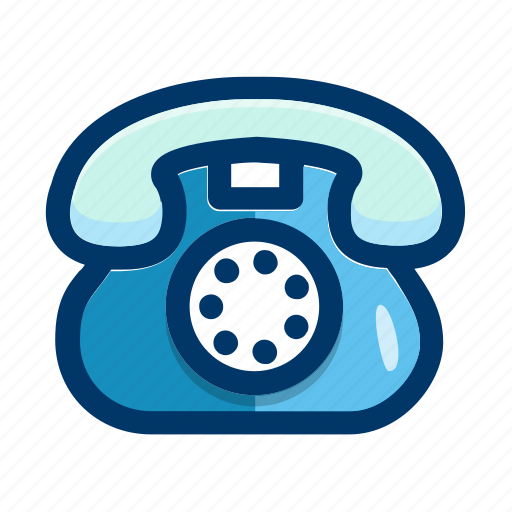 call, communication, connection, phone, telephone, vintage icon