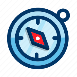 compass, direction, gps, navigation, tool icon
