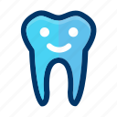 dental, dentist, happy, smile, teeth, tooth icon