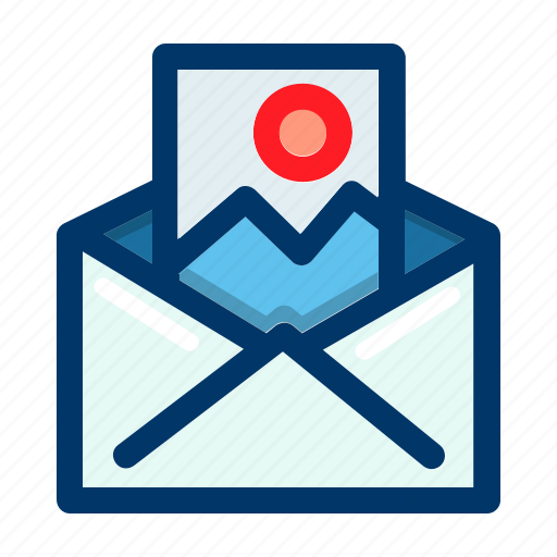 chat, communication, email, image, mail, message icon