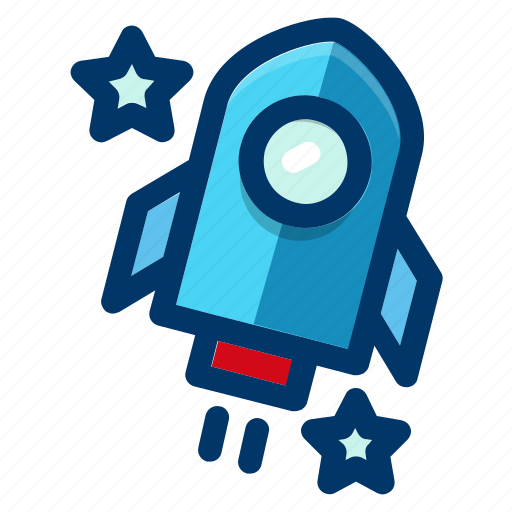 astronomy, launch, rocket, space, spacecraft, spaceship icon