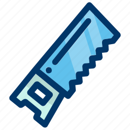 construction, equipment, repair, saw, tool, tools, work icon