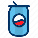 beverage, can, drink, soda, soft drink, softdrink icon