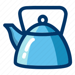 beverage, coffee, drink, hot, kettle, tea icon