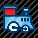 toy, train, child, locomotive, transport, vehicle