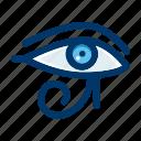 egyptian, eye, pharaoh, culture, egypt