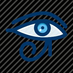 culture, egypt, egyptian, eye, pharaoh icon