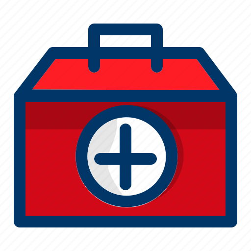 aid, box, first, health, healthcare, medical, medicine icon