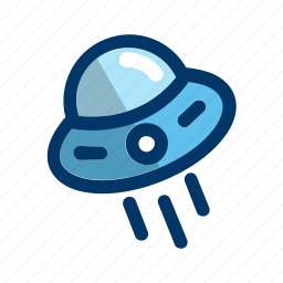 alien, flying, launch, space, spacecradt, spaceship icon