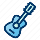 guitar, instrument, music, musical, play, sound icon