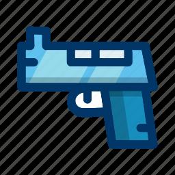 game, gun, pistol, protection, shoot, target, weapon icon