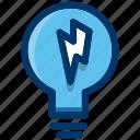 lightbulb, bulb, energy, idea, light, power