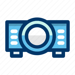 device, media, movie, powerpoint, presentation, projector icon