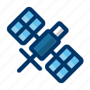 satellite, antenna, communication, space, technology