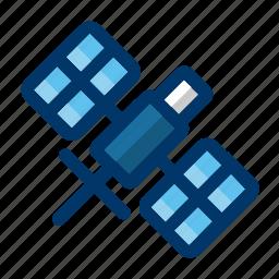 antenna, communication, satellite, space, technology icon