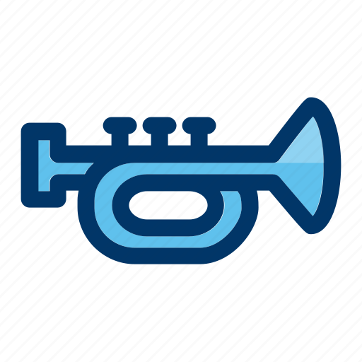 announcement, instrument, music, musical, trumpet icon