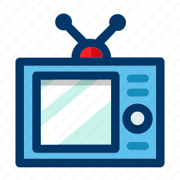 device, monitor, retro, screen, television, tv, vintage icon