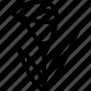 calla, flower, line, line icon icon