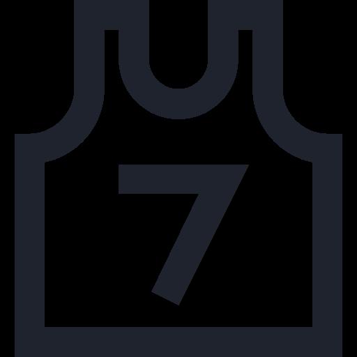 basketball, game, play, seven, shirt, sport, team, wear icon