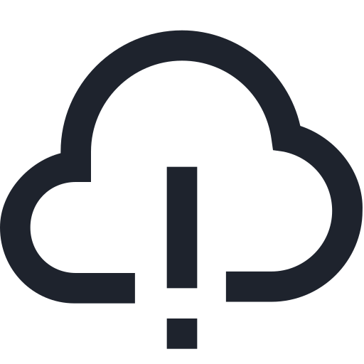awarness, cloud, computing, danger, full, risk, wireless icon