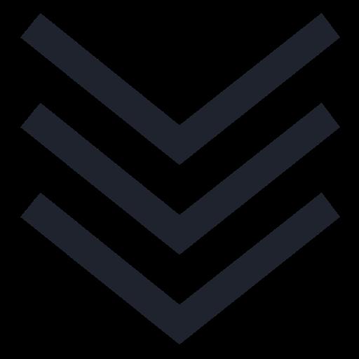 arrow, dirrection, down, download, sign, symbol, traffic icon