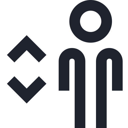 down, elevator, man, people, person, public, sign, up icon