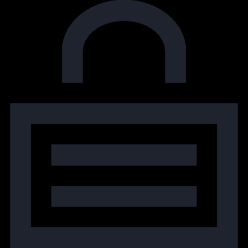lock, locked, locker, padlock, password, security icon