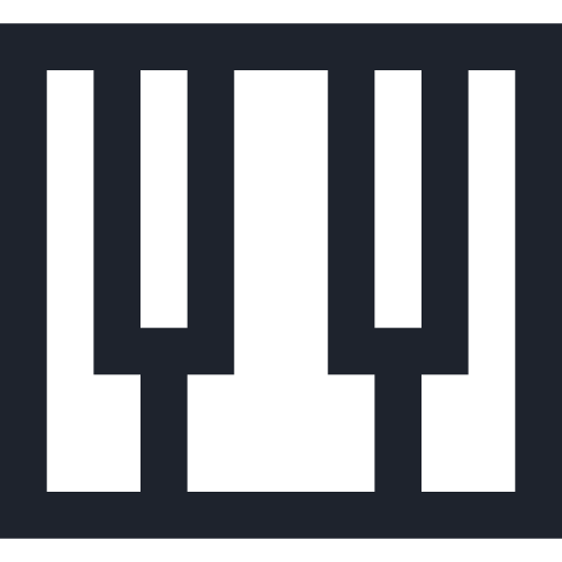app, instrument, music, musical, piano, playing, sound icon