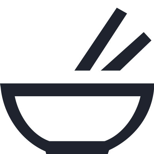 chinese, eat, fastfood, food, plate, soup, sticks icon