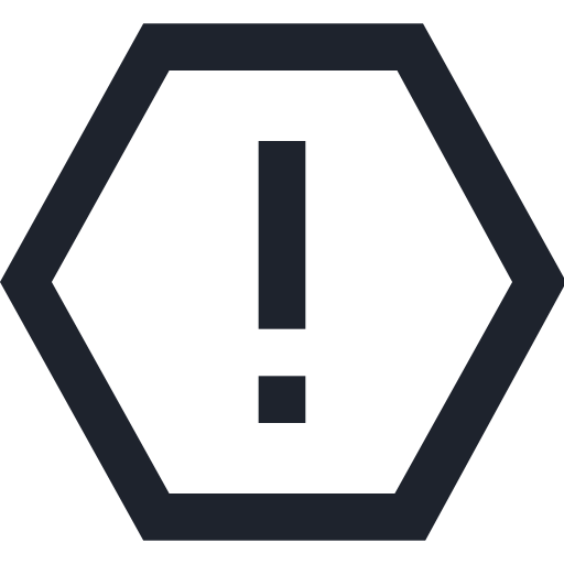 hexagonal, road, sign, stop, symbol, traffic icon