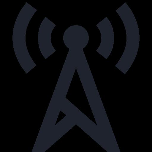 antenna, communication, connection, phone, radio, sign, wave, wireless icon