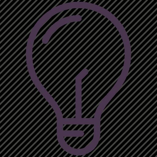 bulb, check, good idea, idea, light, new icon