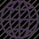 earth, global, globe, location, marker, navigation, world icon