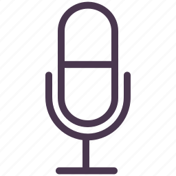 microphone, office, operator, phone, professional, speaker, support icon
