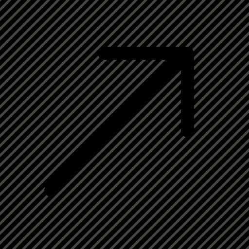 arrow, arrow up, up icon