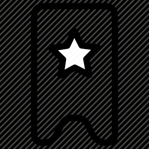 Bookmark, star, favourite icon - Download on Iconfinder