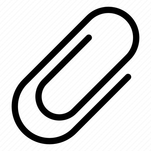 Paperclip, attach, attached, attachment icon - Download on Iconfinder