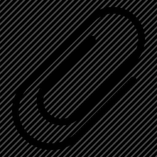 attach, attached, attachment, paperclip icon
