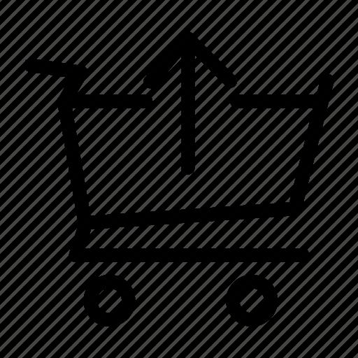 basket, cart, checkout, order, shop, shopping, webshop icon