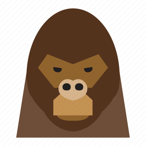 animal, animal face, gorilla, gorilla face, monkey, monkey face, thief icon