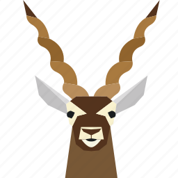 animal, animal face, cartoon, deer, deer face, forest icon