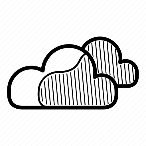 cloud, cloudly, clouds, dark, meteo, weather icon