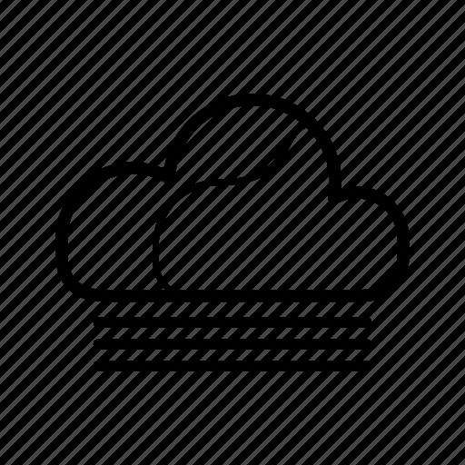 cloud, fog, foggy, meteo, weather icon
