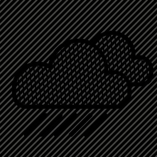 drop, heavy, meteo, rain, raindrop, weather icon