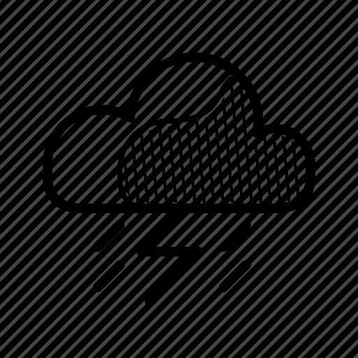 meteo, rain, raindrop, storm, stormy, water, weather icon