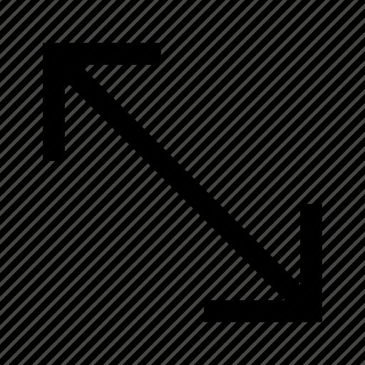 arrow, arrows, corner, direction icon