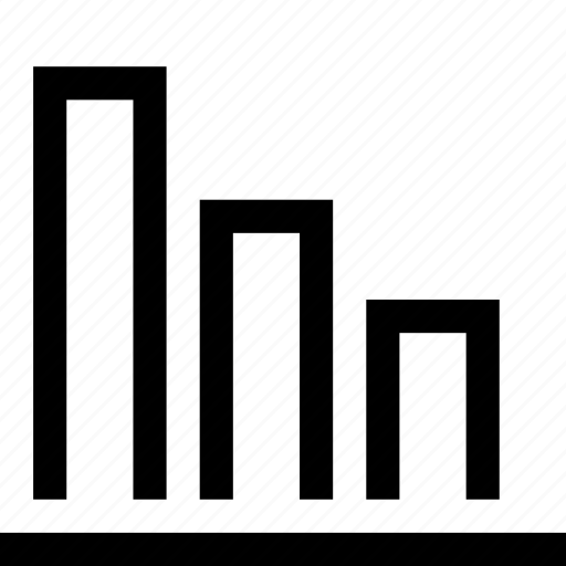 alt, bar, chart, diagram, finance, graph, statistics icon