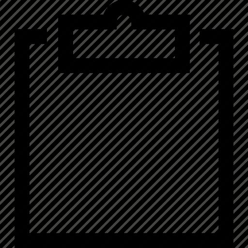 chart, checklist, clipboard, report icon